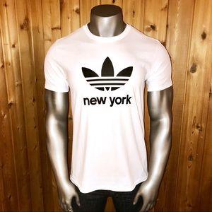 NWT! Adidas Originals New York Trefoil T-Shirt